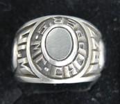 Handgravierter Ring